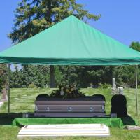 The graveside service can provide a serene and pure environment for you loved one's final journey.