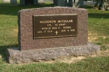 Example of a bronze, veterans monument plaque.